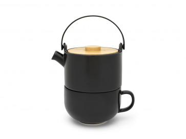 Tea for one Umea zwart 500ml