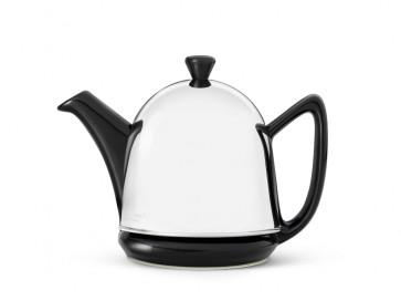 Theepot Cosy® Manto zwart 0.6 liter