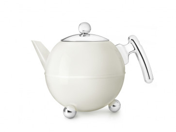 Theepot Bella Ronde 1,2L wit