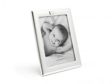 Fotolijst Kroon verzilverd gelakt 13 x 18 cm