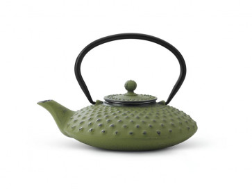 Theepot Xilin 0,8L gietijzer groen