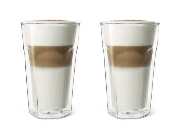 Dubbelwandig Glas Latte Macchiato 280ml S/2