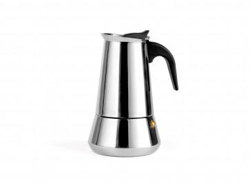 Espressomaker Trevi voor 6 kopjes, RVS