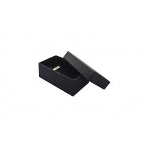 Geschenkdoos voor manchetknopen en steekspelden,  zwart