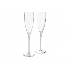 Champagneglazen Smooth, set van 2, vz./l