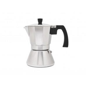 Espressomaker Tivoli 6-kops aluminium