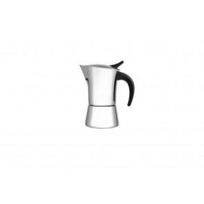 Espressomaker Ancona 6-kops glanzend